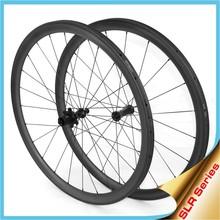 2015 Ceramic bearing SLR330T tubular bicycle wheel 33mm 38mm carbon wheels