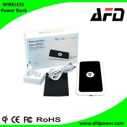 Mobile phone wireless charge accessory for Qi