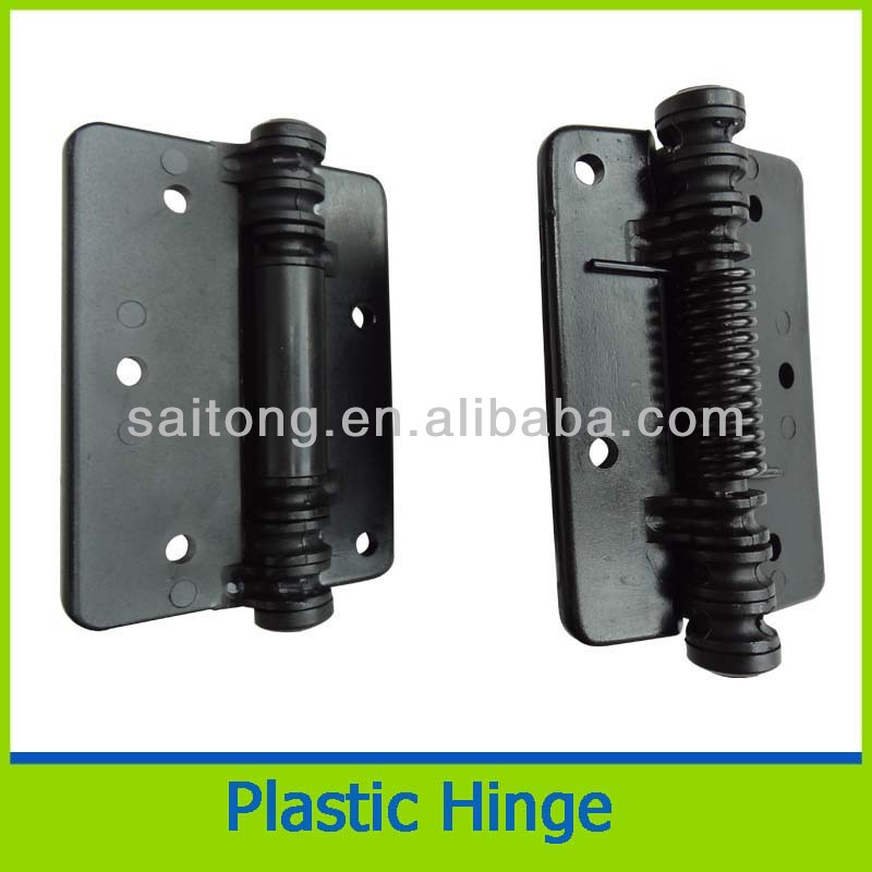 черный пластик петля для двери/окна/забор