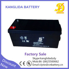 rechargeable deep cycle lead acid 12v 200ah battery solar, vrla 200ah battery manufucturer