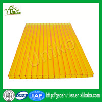 six wall best price triple wall polycarbonate sheet factory