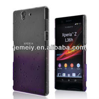 NEW! For SONY Xperia Z L36h Stylish Raindrop Hard PC Case Cover Cell phone case