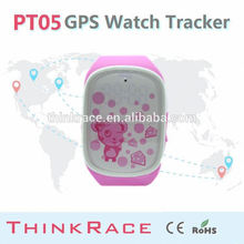 Smart personal gps tracker Gps watch PT05 with mobile tracking