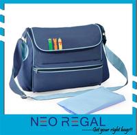 fashion nice mumi bag /600D diaper bag/ baby travel bag