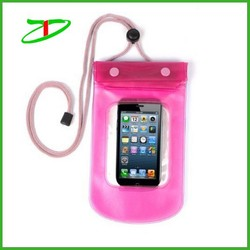 Quanzhou factory custom waterproof phone bag, cheap phone waterproof bag