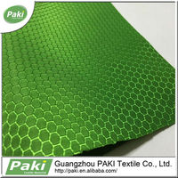 honeycomb football design polyester jacquard oxford fabric for backpack