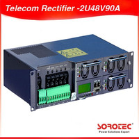 Telecom rectifier, 2U 48V90A, modular rectifier, Embedded power supply