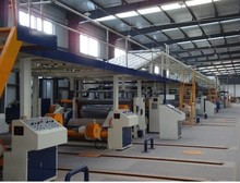 Made in China 3,5,7,ply corrugated cardboard production line