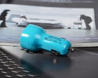 popular hotsale portable dc 12v-24v input micro dual port electric dynamo charger car battery