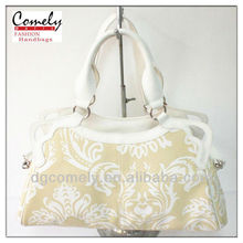 2015 purses Comely bag manufacturer girls pu lace tote hand bag woman handbag wholesale