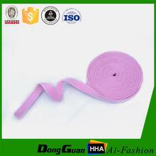 Dongguan wholesale Custom Colored Nylon Elastic band for pants/underwear /garment accesories