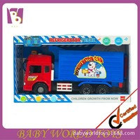 Friction Container Truck Toy Small Friction Car