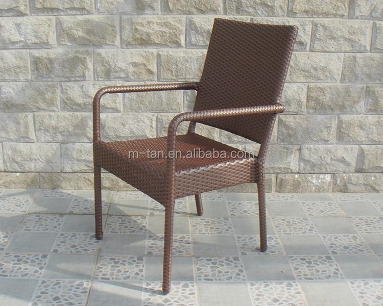 Pas cher cadre en aluminium en osier manger meubles de l 39 espace empilab - Chaise en osier pas cher ...