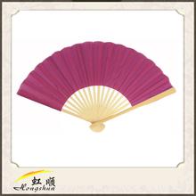 Violet Japanese Folding Silk Hand Fan For Wedding Commodity For Wedding Favors