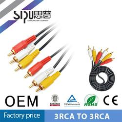 SIPU Best sells av rca cable optical to rca cables rca cable 30cm
