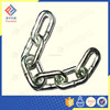 KOREAN STANDARD BLACK PAINTED Q235 IRON LINK CHAIN