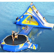 Best service high quality funny kids giant inflatable water park