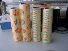 sun wrap food grade pvc stretch film - micro pvc cling film - SGS approved