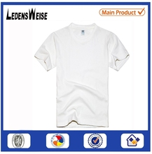 comfortable and breathable plain white golf t-shirts