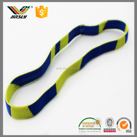 Print logo Colored Polyester Braided Elastic Book Strap