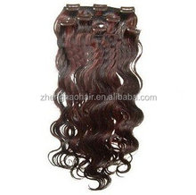 Brazilian clip in hair extensions afro kinky curly remy virgin hair