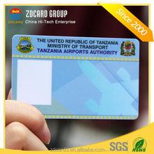 hot selling custom professional pvc id card printing