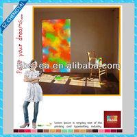 poster color paint & poster design