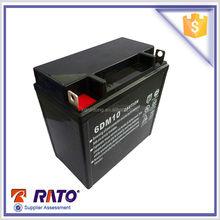 RATO gasoline generator battery, 12v 10Ah 6DM10 mainteance free sealed lead acid battery