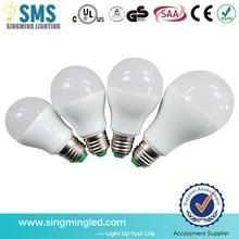 Super bright high lumen e27,led bulb plastic,b22 led bulb