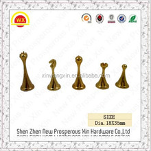 Custom western style Slap-up zinc alloy outdoor chess table