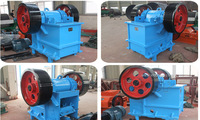 Hot sell copper ore jaw crusher with low price