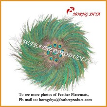 Handicraft Feather Placemat