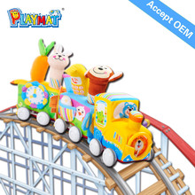 2015 promotion gift plush toys free sample ,railway toys train,wholesale plush toys