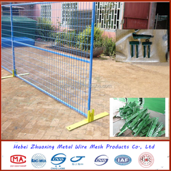 Australia or Canada High Standard Powder Coated Temporary Fence (100% professional factory from anping)