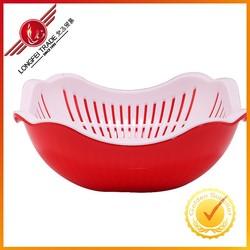 Colander/Strainer & Rectangle Sink Set,Plastic Products,Vegetable/Fruit Basket