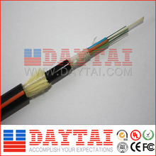 CE ROHS Approved All-Dielectric Self-Supporting Fiber Optical ADSS Outdoor Cable