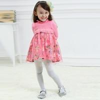 2015 dress wholesale children's casual dress boutique girl clothing designs