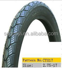 high quality motorcycle tire 2.50-17