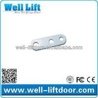 Garage door wire rope fastener