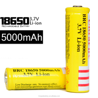 Factory low price Rechargeable Batteries, 3.6v lithium ion battery, 18650 battery 5000mah