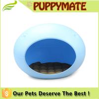 High quality new design resin egg shape pet dog bed