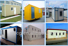 prefab eco-type steel frame container homes/container house for sale