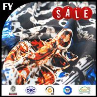 FREE SAMPLE Factory Digital Printed 50D Polyester chiffon Fabric