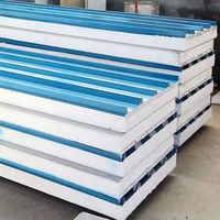 Best price rock wool polyurethane sandwich wall&roof panels