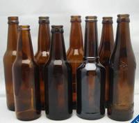 wholesale amber beer bottle