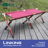 double person folding camping stool chair