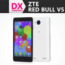 "ZTE V5 Red Bull cell phone WCDMA V9180 2GB RAM 8GB Android 4.3 5.0"" HD CGS Quad Core Dual Sim 13.0MP"