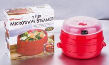 Handy Gourmet Plastic 2 Tier Microwave Stamer