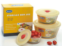 Walmart factory Wholesale Storage Clear Airtight plastic food container