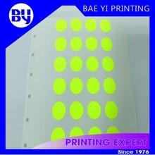 Cheap Small dot round color coding label sticker